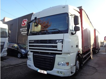 DAF 105 XF 460 combi Zf intarder - curtainsider truck