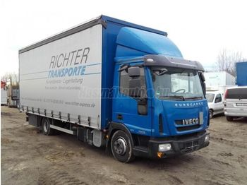 IVECO 75 E 18 P+P - curtainsider truck