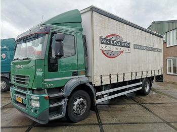 Iveco AD190S31/P | Dhollandia | Side door | 722x248x25  - curtainsider truck