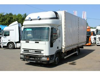 Curtainsider truck Iveco ML 75 E 14 (P) (FP)