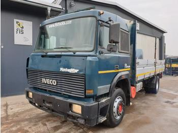 Iveco TURBOSTAR 190.36 - stake body ZF - curtainsider truck