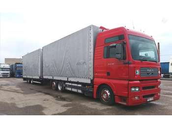 Curtainsider truck MAN TGA 24.480