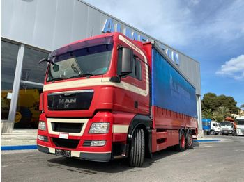 Curtainsider truck MAN TGX 26.440