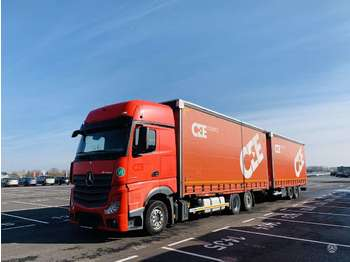 Mercedes-Benz 2542 Giga Space Actros  - curtainsider truck