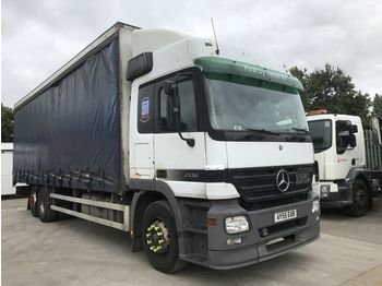 SCANIA Actros 2536 - curtainsider truck