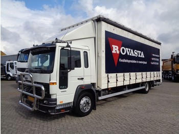 Volvo FL 612 + Manual + Lift Dhollandia + Euro 2 - curtainsider truck