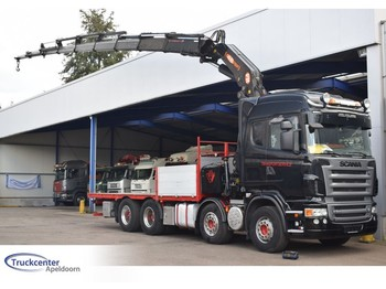 Scania R500-V8 PM Serie 48 SP, 8x Extended, 8x4, Manuel Retarder, Truckcenter Apeldoorn - dropside/ flatbed truck