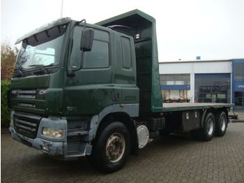 DAF 480 6X4 STEEL SPRINGS 8 M CHASSIS - dropside truck