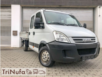 IVECO Daily 2.3 HPI | DoKa | 7 Sitzer | AHK | Pritsche | - dropside truck