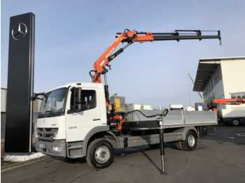 Dropside truck Mercedes-Benz Atego 1529 Pritsche/Kran + Funk: picture 1