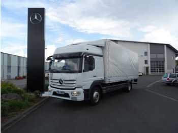 Dropside truck Mercedes-Benz Atego 1530 L 4x2 Pritsche/Plane + LBW Euro 6