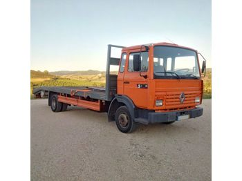 RENAULT Midliner S120 Turbo left hand drive Perkins electric winch - dropside truck