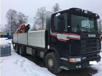 Scania R124.400 - SOON EXPECTED - 6X2 MANUAL FULL STEEL  - dropside truck