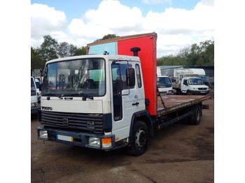 VOLVO FL611 Turbo left hand drive ZF manual 11 ton low miles - dropside truck