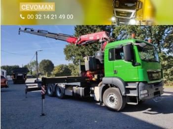 MAN TGS 26.400 - flatbed truck