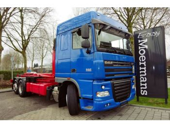 Hook lift truck DAF XF 105.510 6x2 Abrolkipper