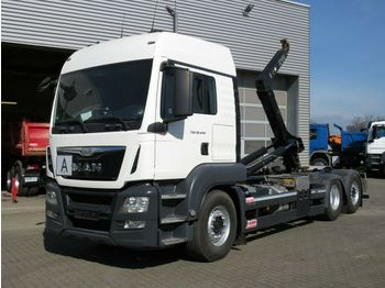 MAN TG-S 26.440 BL 6x2 Abrollkipper Lift+Lenkachse  - hook lift truck