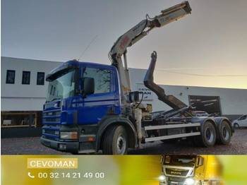 Scania 114C 340 6x4 - hook lift truck
