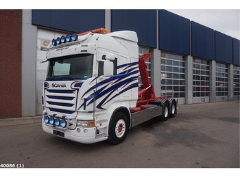 Scania R 480 6x4 Manual - hook lift truck