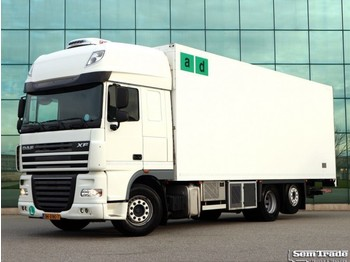 DAF FAR XF105.460 6X2 MANUAL INTARDER TOP CONDITION HOLLAND TRUCK ATE ENGINE - refrigerator truck