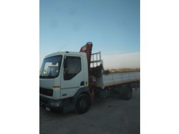 DAF LF45.180 60.000 km !!! and CRANE - tipper