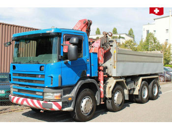 Scania P124 8x4  - tipper